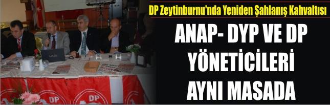 DP Zeytinburnu'nda Yeniden Şahlanış Kahvaltısı