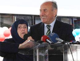 Kadir Topbaş'ı mest eden kadın!..