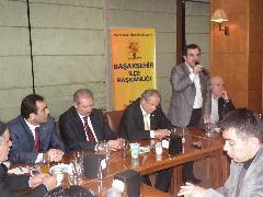Ak Parti Başakşehir Güvercintepe mahallesinde STK'ları dinledi
