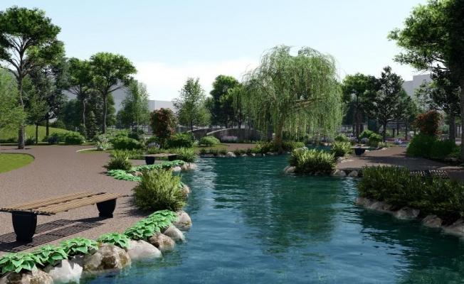 94 Bin Metrekarelik Millet Bahçesi Zeytinburnu'na Yapılıyor