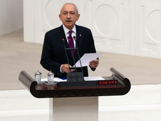 Kılıçdaroğlu TBMM'nde ne konuştu ?