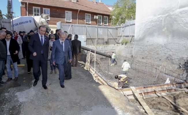 Mehmet Akif Ersoy Kültür Merkezi'nin Temeli Atıldı