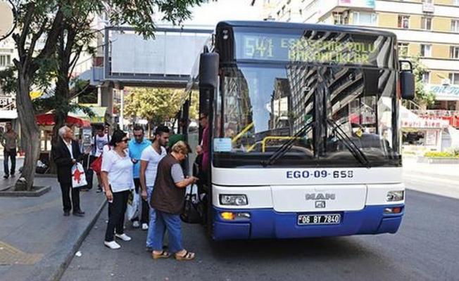Ankara'da 'psikojim bozuldu' diyen şoför yolcuları indirdi