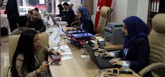 Suriyelilerin İŞ KUR'u 'Rızık' işsiz Suriyelilere umut oluyor