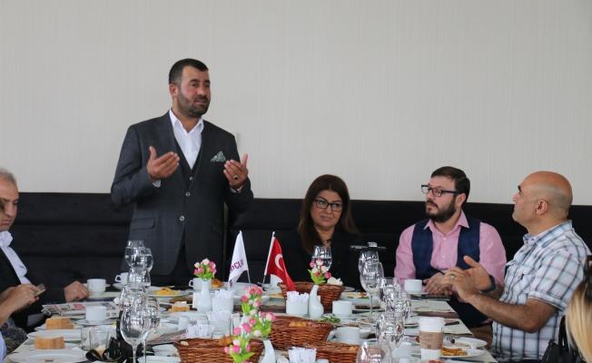 Zeynel Abidin Morkoç Basın ile buluştu