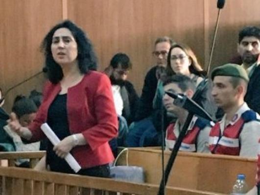 Hakim karşısına çıkan Figen Yüksekdağ'ın savunması
