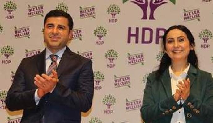HDP'nin Meclis Oturum Konuşması