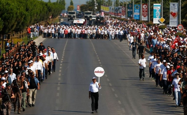 KIlıçdaroğlu; 'Adım Adım Yürüyerek Adaletin İzinde Kavuştuk'