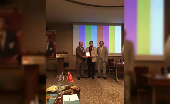 Marmara Mardinliler Derneğine Plaket