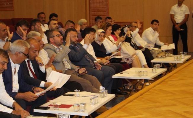Temmuz Ayının İlk Meclis Toplantısı Yapıldı