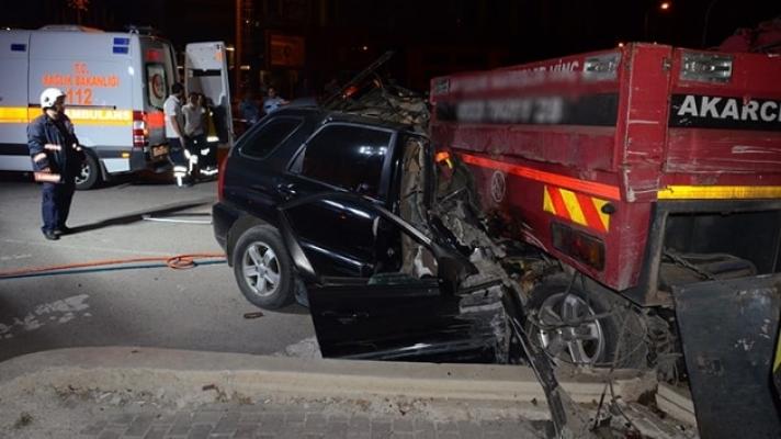 Ataşehir' de kaza:2 Ölü