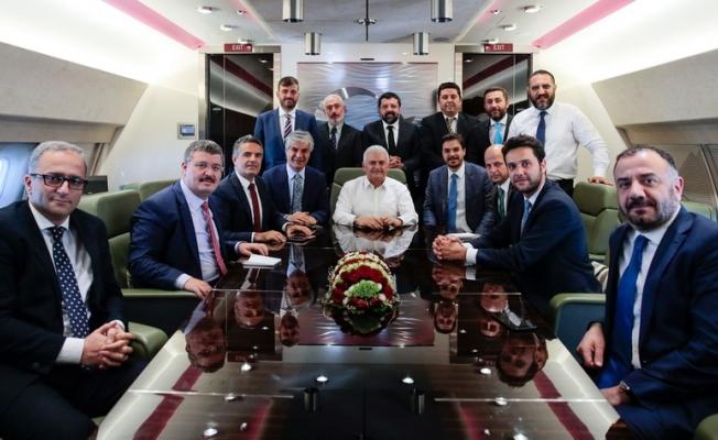 Başbakan Yıldırım'dan Bahçeli'ye Barzani cevabı!