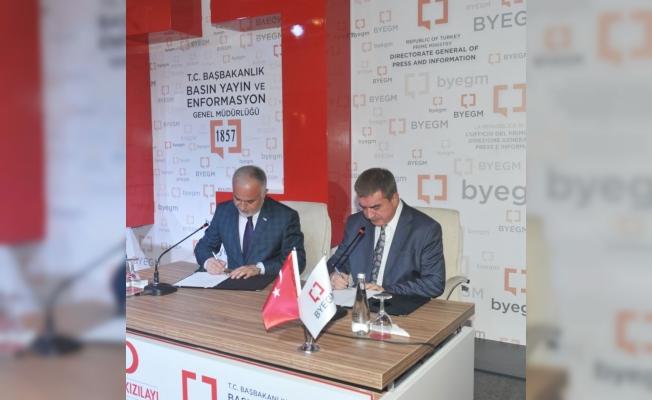 Byegm İle Türk Kızılayı Arasında Stratejik İş Birliği Protokolü İmzalandı