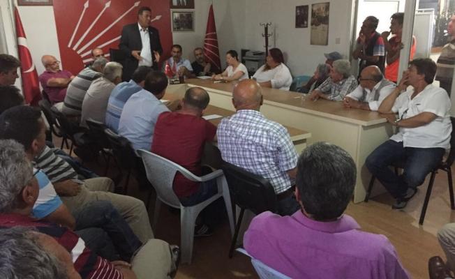 CHP Milletvekili Ömer Fethi Gürer, Ulukışla Genişletilmiş İlçe Örgütü Toplantısına katıldı