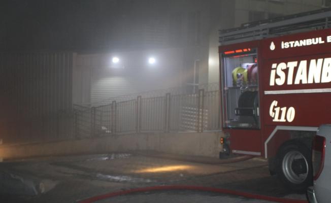 İkitelli'de bir metal fabrikasında yangın çıktı