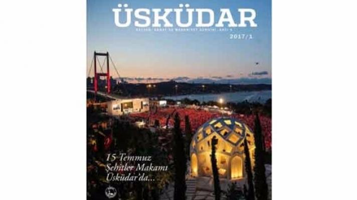 Üsküdar'a ve sanata dair bir dergi