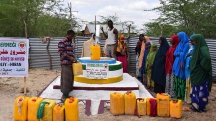 YARDIMELİ'nden Somali'ye 47 Yeni Su Kuyusu