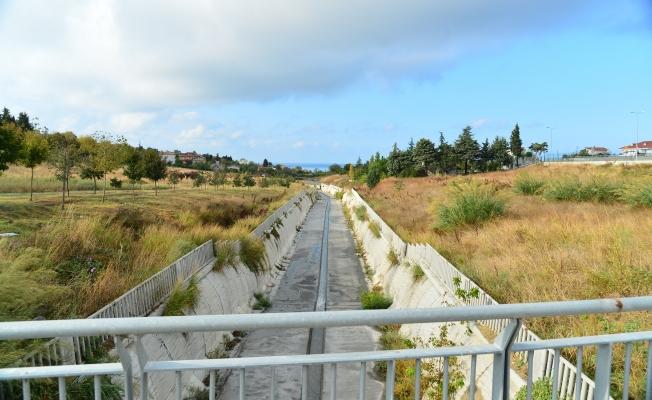 Atmaca deresi ve çevresi kent parkı oluyor