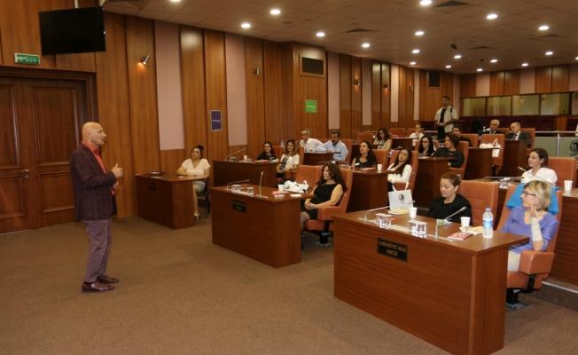 Başkan Altınok öz liderlik eğitimi'ne konuşmacı olarak katıldı