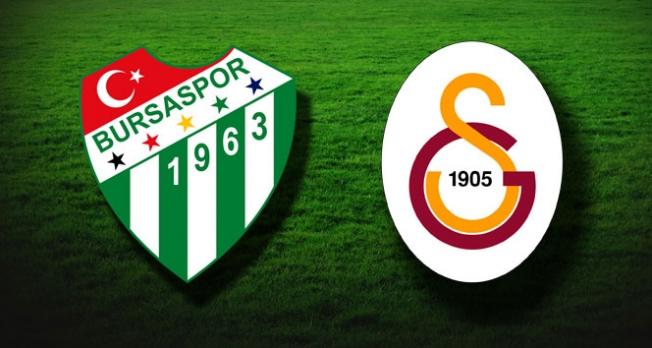 Bursaspor- Galatasaray: 1-2
