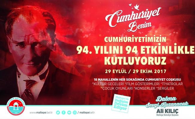 Maltepe'de Cumhuriyet Festivali