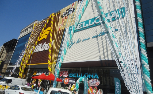 İstikbal'in 651., Bellona'nın 596. mağazası Şirinevler'de açıldı