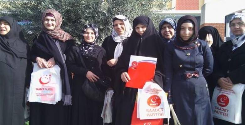 Saadet'li kadınlardan Hayvan Hakları açıklaması