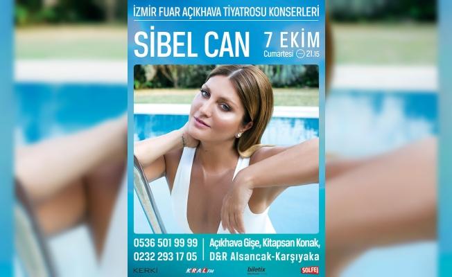 Sibel Can İzmir'de sahneye çıkıyor