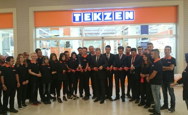 Tekzen 123. mağazasını Erzurum 'da açtı