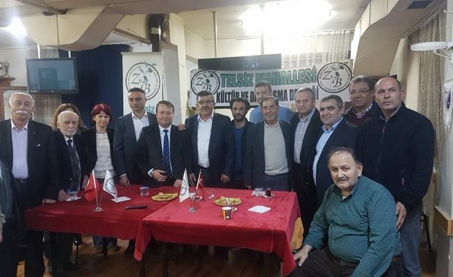 Ak Parti'den Telsiz Mahalle Derneğine Ziyaret