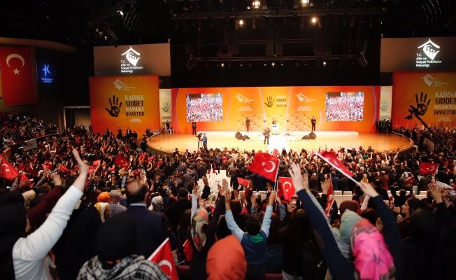 Cumhurbaşkanı Erdoğan: Kadına Şiddet Asla Kabul Edilemez