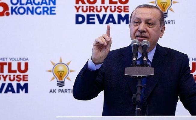 Cumhurbaşkanı Erdoğan: Kasetle gelen dekontla gider