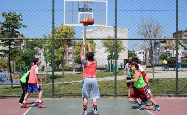 Esenler'de Basketbol Sokağa İnecek