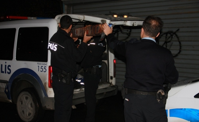 İstanbul'da polisten kaçan hırsız dereye atlayarak kaçtı
