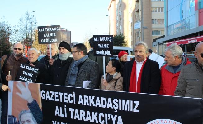 Meslektaşları Ali Tarakçı'ya Yapılan Saldırıyı Kınadı