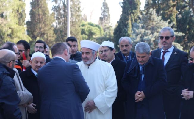 Tüm İstanbul Muhtar Dernekleri Federasyonu Mehmet Akif Ersoy'un Kabrini Ziyaret etti..