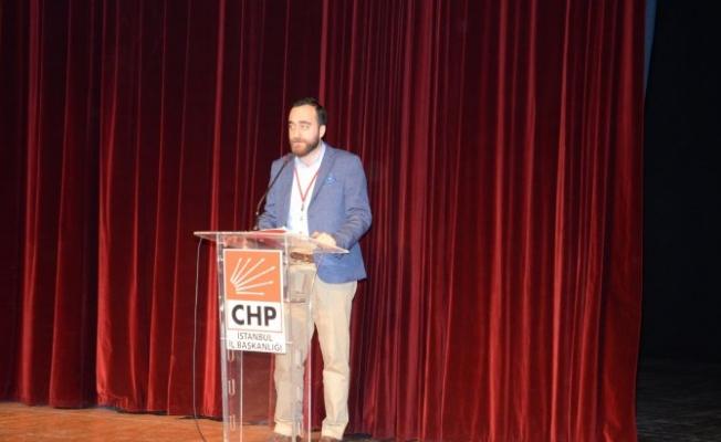 CHP İstanbul İl Gençlik Kolları'nın yeni başkanı Burkay Düzce