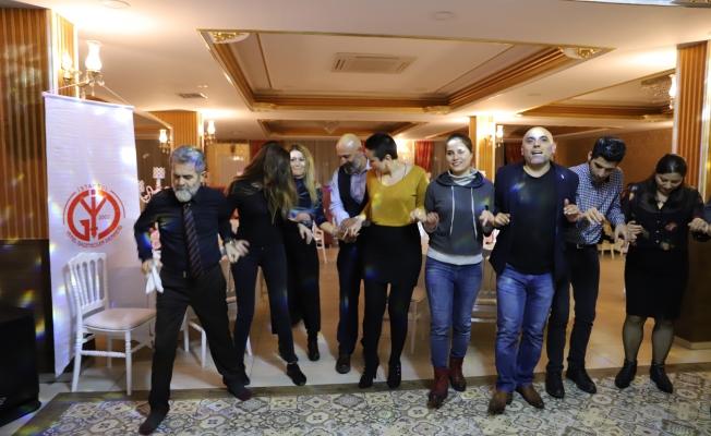 Gazeteciler 10 Ocakta Eğlendi