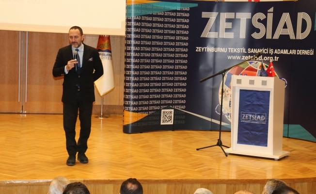 """Prof.Dr.Emre Alkin :""""Tekstil Kazanır Zeytinburnu Kazanır"""" dedi"""