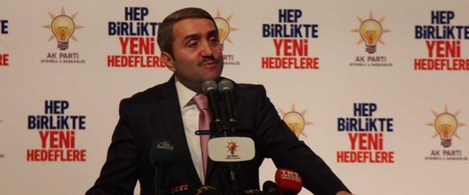 AK Parti İstanbul İl Başkanı istifa etti