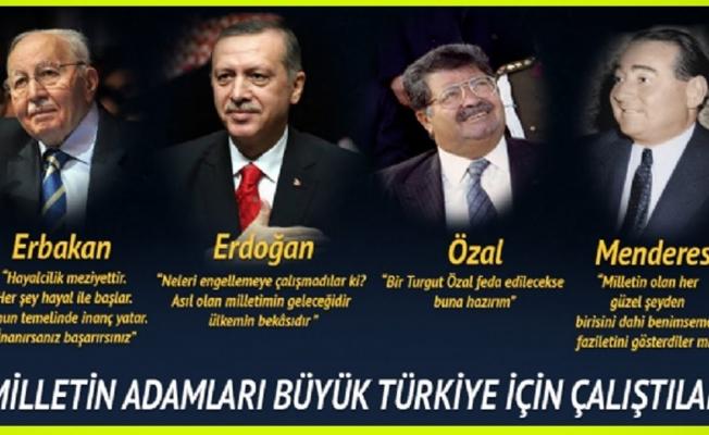 Türkiye Her Alanda Milli Bir Politika Uygulamalıdır