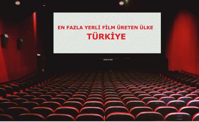 Türkiye Yerli Film Üretiminde 1 Numara