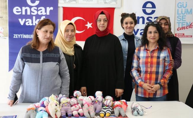 Ensar Vakfı Zeytinburnu Şubesi Suriyeli Çocukları Unutmadı