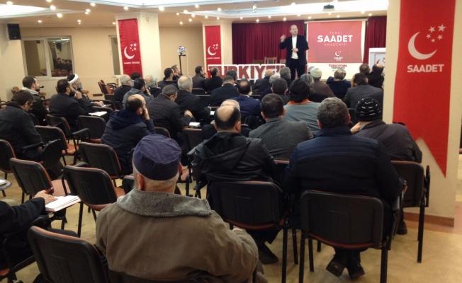 Saadet İstanbul, Son Sürat Yerel Seçimlere Hazırlanıyor!