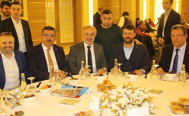 Ak Partililer Birlik ve Beraberlik İçinde Delege Yemeğinde Buluştu
