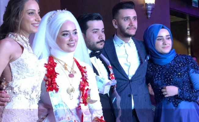 Beyzanur ve Mustafa'ya Görkemli Düğün