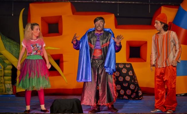 Maltepeli çocukların tiyatro keyfi