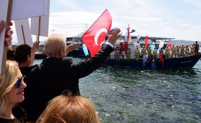 Beşiktaş Ata'sını Samsun'a Uğurladı