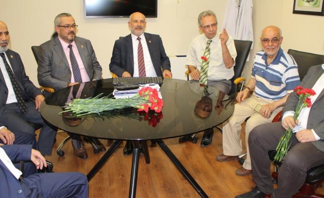 Dr.Mikail Kabak'a Avrasya'da Sıcak Karşılama