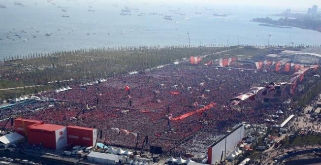 Erdoğan : En baba mitingimiz